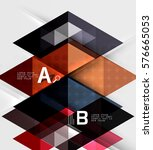 abstract geometric concept....   Shutterstock .eps vector #576665053