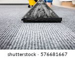 close up of a cleaning carpet... | Shutterstock . vector #576681667