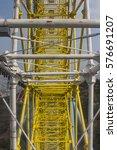 the design of the ferris wheel   Shutterstock . vector #576691207