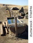 Cattle Watering Trough On A...