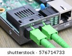 Small photo of Internet Of Things Optical Fiber Converter, Information Technology
