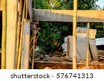 construction site at thailand | Shutterstock . vector #576741313