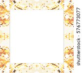 rectangular frame of... | Shutterstock . vector #576773077