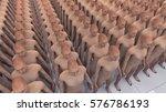 3d rendering. human clones and... | Shutterstock . vector #576786193
