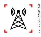 antenna sign illustration....   Shutterstock .eps vector #576801967