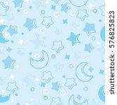night pattern. background for...   Shutterstock .eps vector #576825823