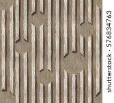 3d wooden pattern  seamless | Shutterstock . vector #576834763