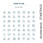 vector graphic set. icons in...   Shutterstock .eps vector #576875413