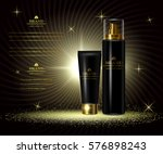 cosmetics luxury beauty series  ... | Shutterstock .eps vector #576898243