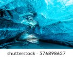 Blue Crystal Ice Cave And An...