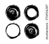 grunge hand drawn white... | Shutterstock .eps vector #576926287