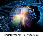 profiles of technology series.... | Shutterstock . vector #576950953