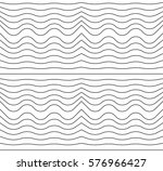 wave lines seamless pattern  | Shutterstock .eps vector #576966427