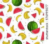 seamless vector pattern of... | Shutterstock .eps vector #576995077