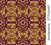 elements in victorian style on... | Shutterstock .eps vector #577016497