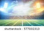 stadium lights at night and... | Shutterstock . vector #577032313