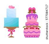 vector cartoon illustration... | Shutterstock .eps vector #577084717