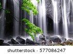 waterfall in japan.  | Shutterstock . vector #577086247