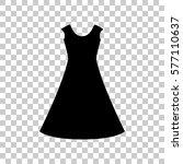 beautiful long dress sign black ...