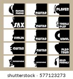 vector set of templates for... | Shutterstock .eps vector #577123273