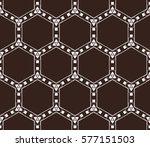 decorative wallpaper design in... | Shutterstock .eps vector #577151503
