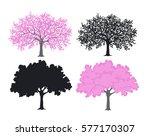 Sakura  Cherry Blossom Tree In...