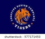 tigers   logo  icon ... | Shutterstock .eps vector #577171453