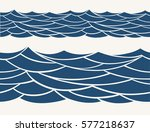 marine seamless pattern with... | Shutterstock .eps vector #577218637