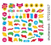 web stickers  banners and... | Shutterstock . vector #577221517