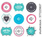 label and badge templates.... | Shutterstock . vector #577225837