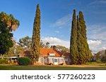museum of karen blixen. blixen... | Shutterstock . vector #577260223