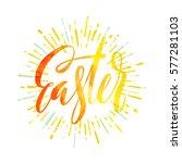 vector illustration hand drawn... | Shutterstock .eps vector #577281103
