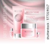 excellent cosmetics advertising ... | Shutterstock .eps vector #577319017
