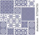 vector seamless patchwork... | Shutterstock .eps vector #577324753