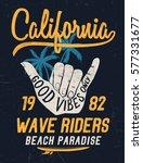 california vector illustration... | Shutterstock .eps vector #577331677