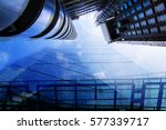 city of london skyscrapers...   Shutterstock . vector #577339717