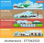 logistics infographics for... | Shutterstock .eps vector #577362523