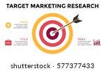 vector circle arrow infographic ... | Shutterstock .eps vector #577377433