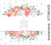 Peony  Rose  Ranunculus  Pink...