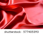 Red Fabric Close Up Background