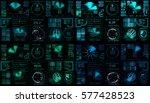 interface fx. fx magic....   Shutterstock . vector #577428523