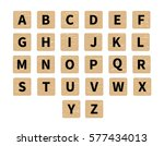 vector word puzzling game.... | Shutterstock .eps vector #577434013