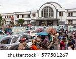 jakarta  indonesia   february 5 ...   Shutterstock . vector #577501267