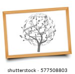 mathematical equations and... | Shutterstock .eps vector #577508803