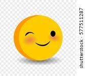 happy feelings  expression for... | Shutterstock .eps vector #577511287