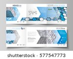 set of business templates for... | Shutterstock .eps vector #577547773