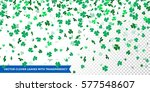 Vector Clover Leaves Pattern...