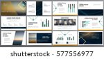 presentation templates. use in... | Shutterstock .eps vector #577556977