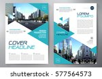 business brochure. flyer design.... | Shutterstock .eps vector #577564573
