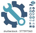 service tools icon with bonus... | Shutterstock .eps vector #577597363